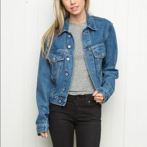 Brandy Melville Classic oversized denim jacket